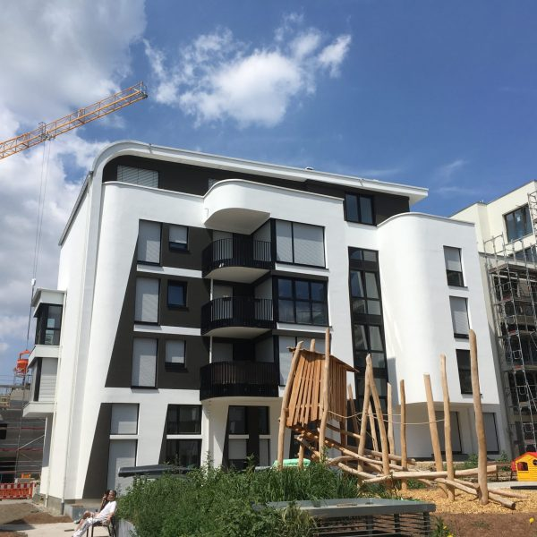 Neubau Mehrfamilienhäuser Tübingen